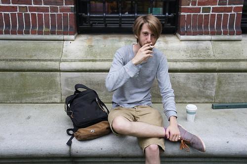 Harvard Student Harvard Campus Boston Mass