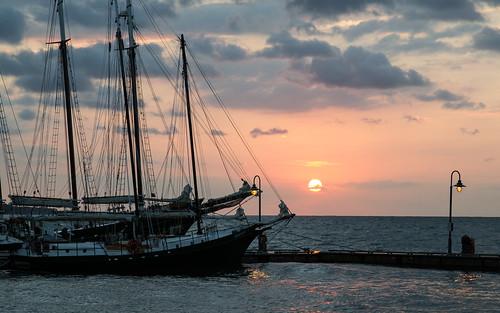 sun water clouds sailboat sunrise virginia boat yorktown yorkriver