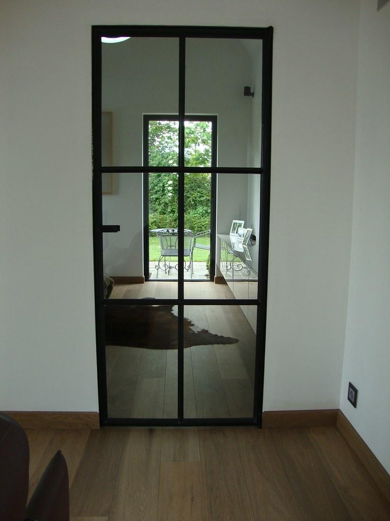 Binnenramen binnendeuren staal met stijl - Deco eetkamer rustiek ...