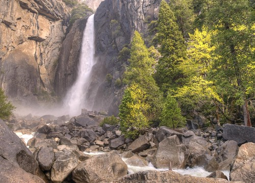 Lower Yosemite Falls Morning