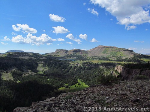 Views from Amphitheatre Peak, Flat Tops Wilderness Area, Colorado