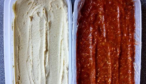 Hummus, Muhamarra