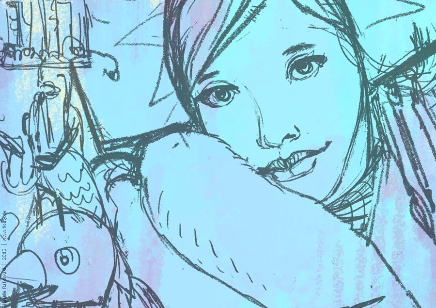 A new illustration in progress