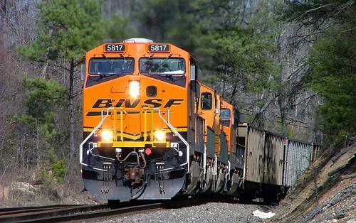 <N/B> BNSF Train