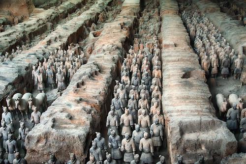 Terracotta Warriors, Xian, China