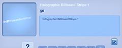 Holographic Billboard Stripe 1