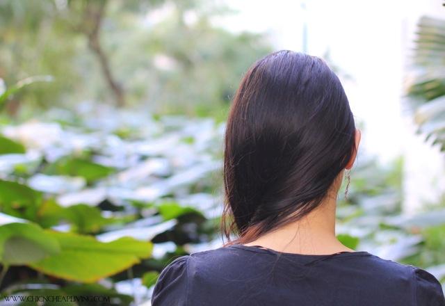 Side braid hair part by Chic n Cheap Living