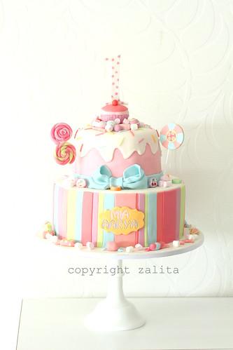 candy cake by {zalita}