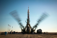 Expedition 38 Soyuz Rollout (201311050032HQ)