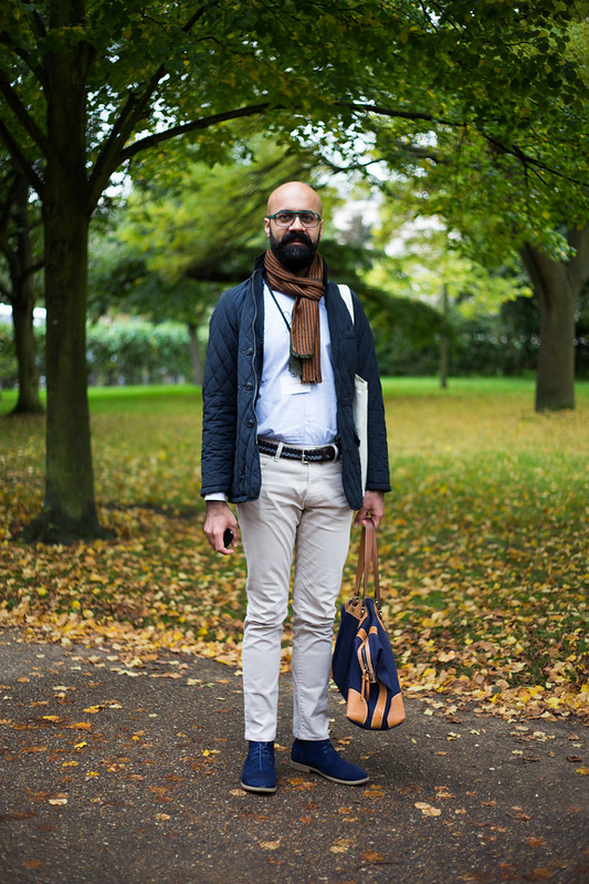 Street Style - Umer Butt, Frieze Art Fair