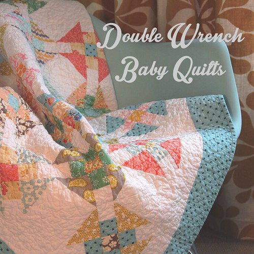 Double Wrench Baby Quilt