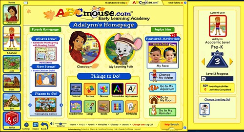 abc mouse home classroom