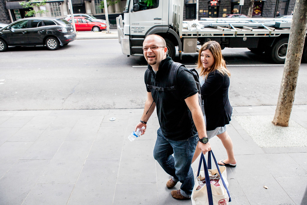 8:48am - Collis walking to work with Cyan | A Day in the Life of the CEO
