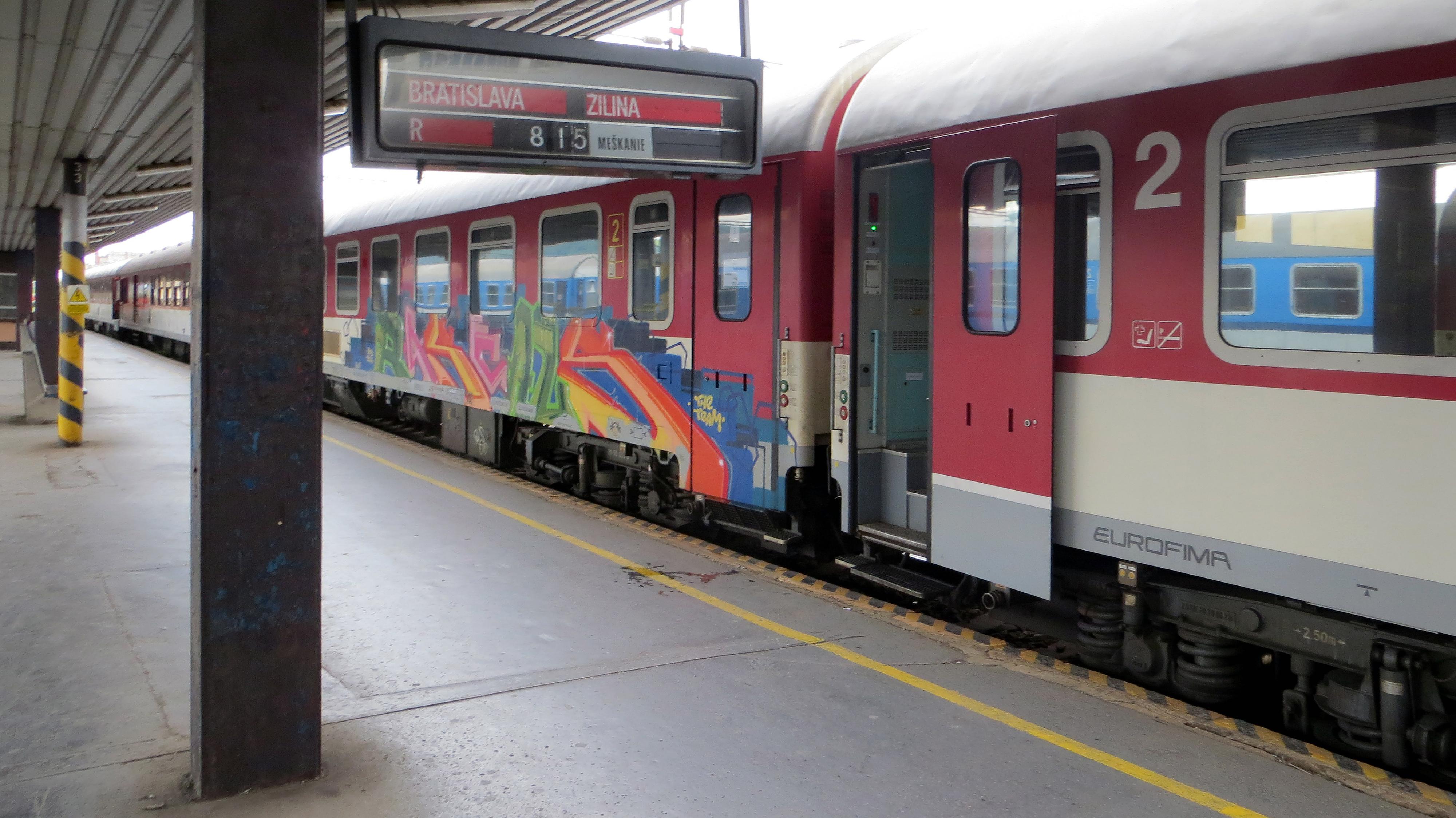 Trainstationspotting - Košice train station, Slovakia, 2013