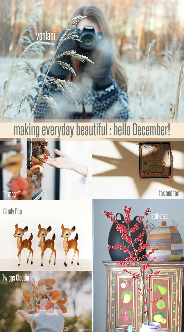 making everyday beautiful : hello December! | Emma Lamb