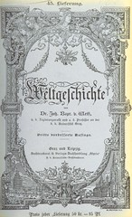 Image taken from page 803 of 'Weltgeschichte ... Dritte verbesserte Auflage. (Fortgesetzt von Dr. Richard V. Kralik, Bd. 23, etc.)'