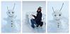 I built an Andorian snowman! by CASSIAN0001