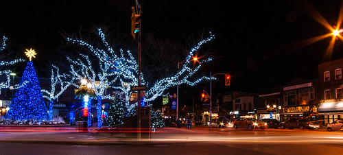 The Danforth all decked out on a very cold December night - #346/365 by PJMixer
