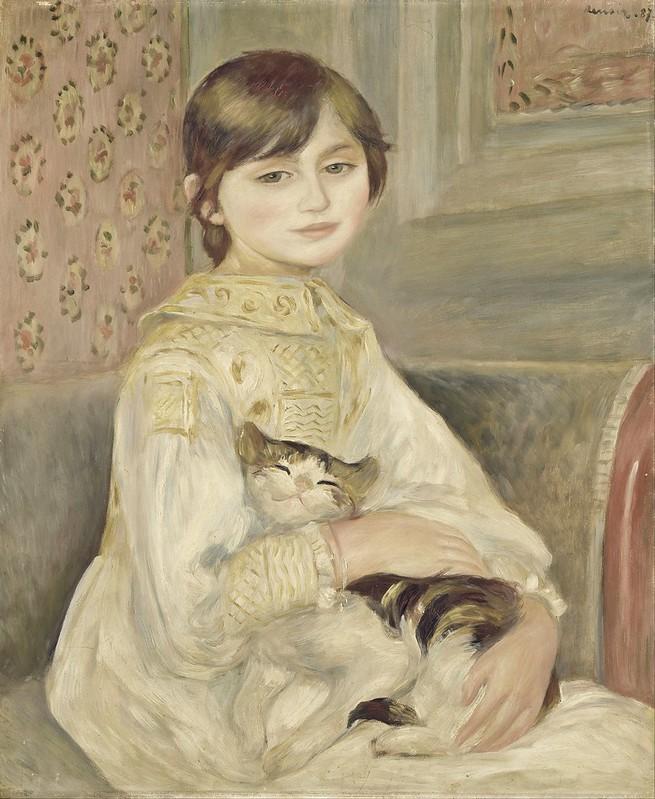 Auguste Renoir - Julie Manet (c. 1887)