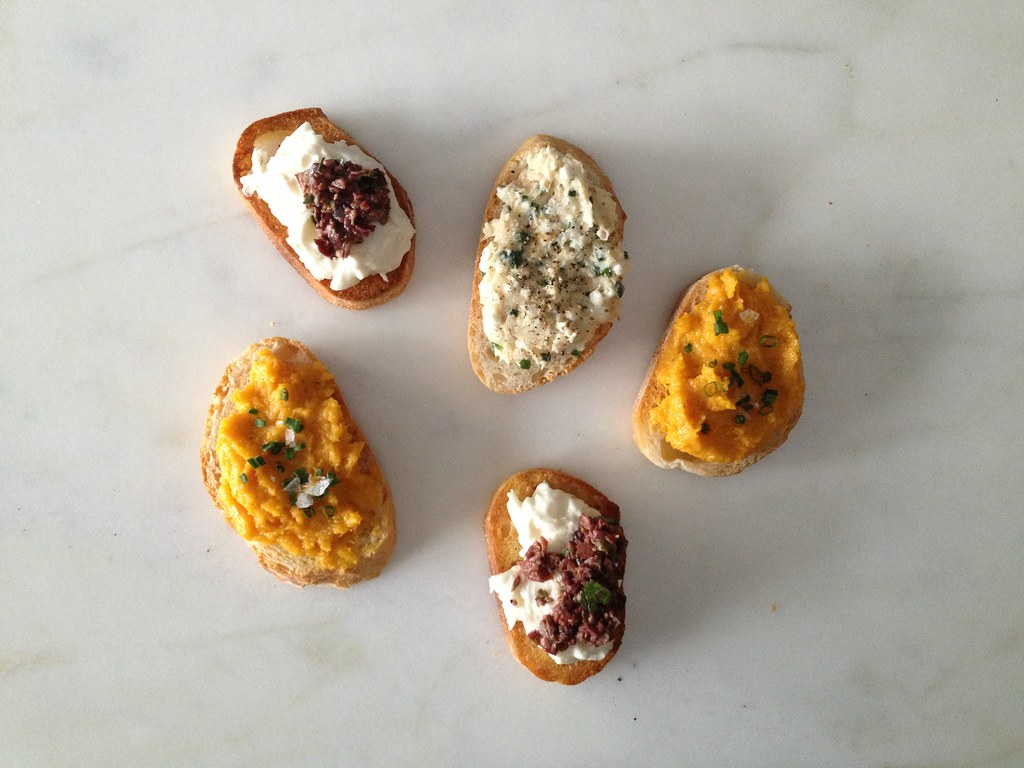 Crostini Not Sad Desk Lunch on Food52