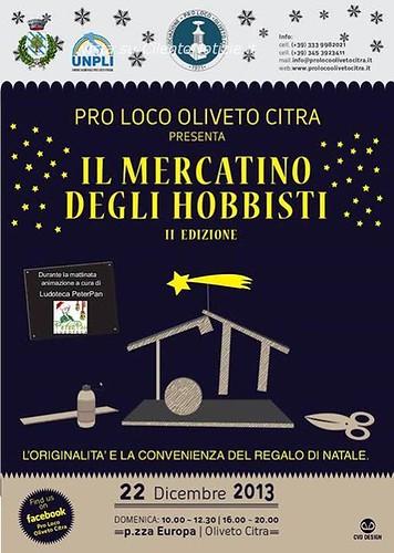 Oliveto Citra: In occasione del Natale, appuntamento con i mercatini e il Presepe vivente