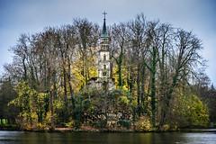 Ruin Chapel at Seeschloss Monrepos - Ludwigsburg Germany