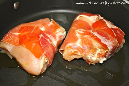 Prosciutto Wrapped Chicken