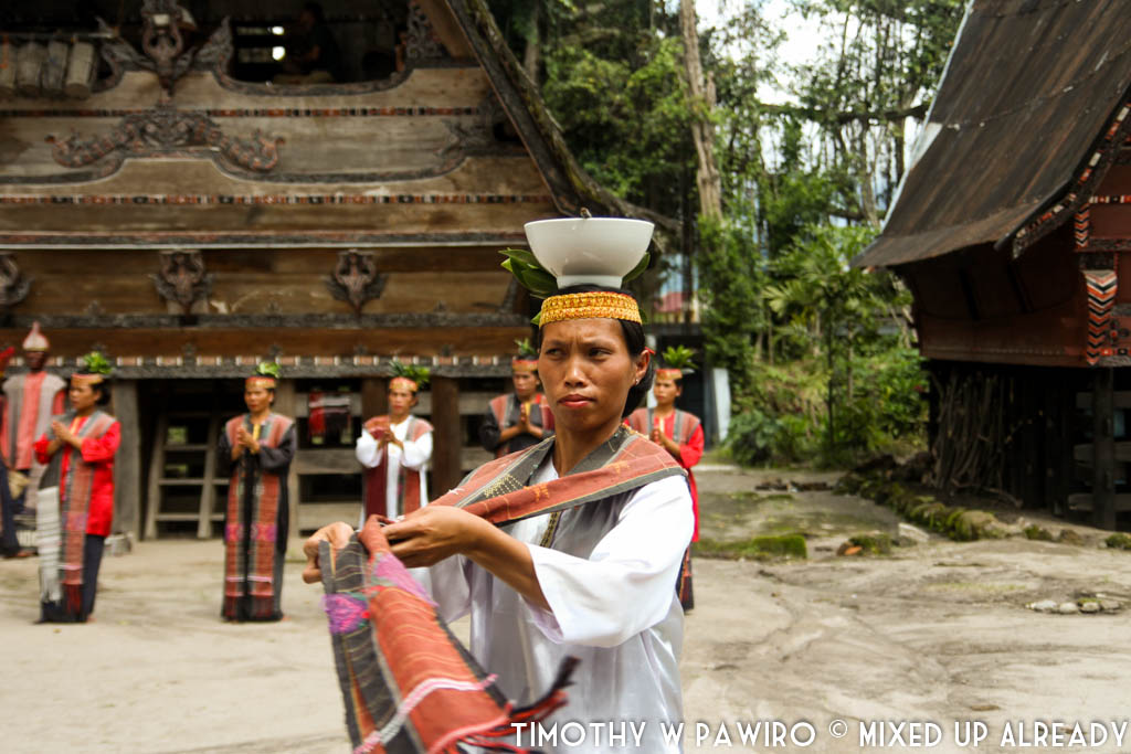Indonesia - Medan - Museum Huta Bolon Simanindo - Mangalahat Horbo - Gondang Pangurason