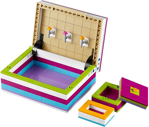 LEGO Friends Jewelry Box #40114 inside view