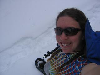Snowshoeing Telescope Peak
