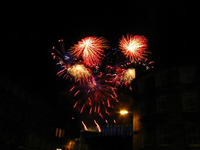Edinburgh Fireworks 2013/14