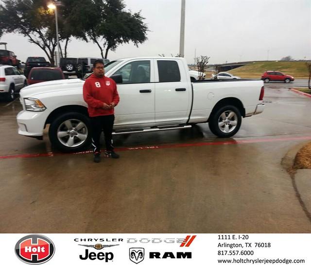 Chrysler Dealership Arlington Tx: Thank You To Enrique Castaneda On Your New 2014 #Ram #1500