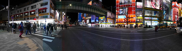 Night Panoramakiba - station