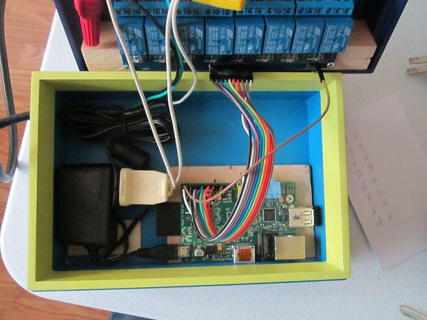 Raspberry Pi : Un boitier de commande électrique piloté en ligne