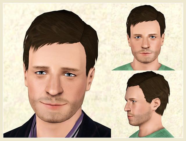 Nathan Fillion - Posed (Sim)