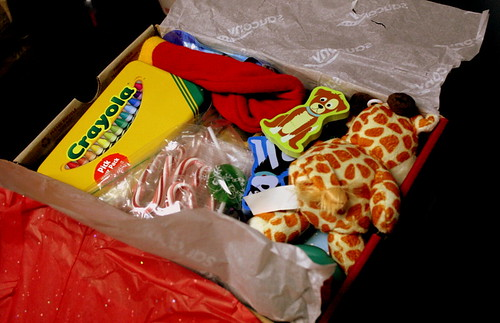 Greyson's Christmas Child Box
