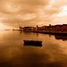 Ioannis N. Athanasiadis posted a photo:	Thessaloniki port, just before the rain…