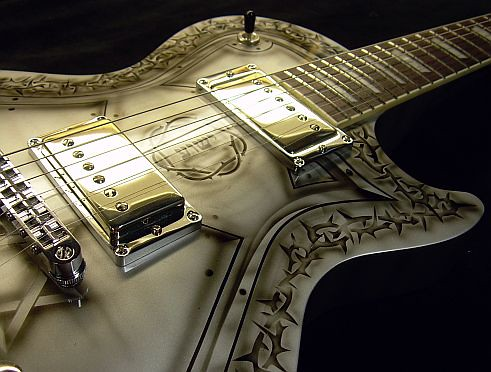 cool guitar paint jobs flickr photo sharing. Black Bedroom Furniture Sets. Home Design Ideas