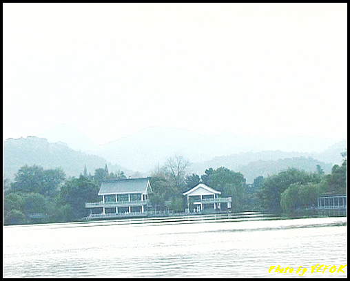 杭州 西湖 (其他景點) - 301 (在西湖十景之 蘇堤 看西湖十景之 花港觀魚)