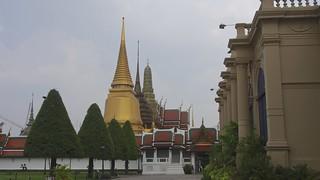 Image of  Grand Royal Palace  near  Bangkok. travel thailand temple asia southeastasia king bangkok royal palace monuments thegrandpalacebangkok