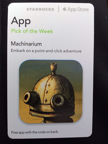 Starbucks iTunes Pick of the Week - Machinarium