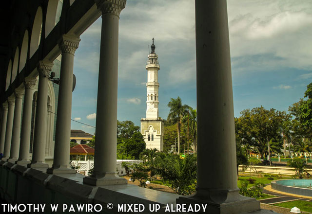 Asia - Indonesia - Medan - Grand mosque of Al-Mashun - The backyard
