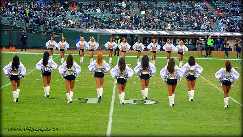 2013 Oakland Raiderettes O.co Coliseum