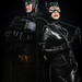 Batman and Catwoman - ComicPalooza 2013 by Michael Shum