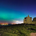 Northern Lights at Blackness Castle by Kit Downey