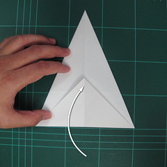 วิธีพับกระดาษเป็นรูปปลาแซลม่อน (Origami Salmon) 005