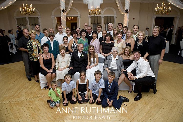 Large Group Wedding Photo 5