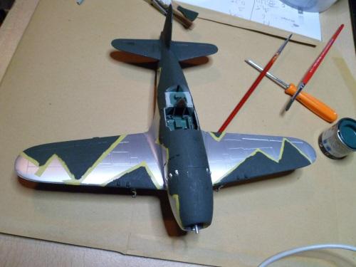 Pas-à-pas : Mitsubishi J2M3 modele 21 Raiden Jack [Tamiya 1/48] 13296110653_592602a507_o