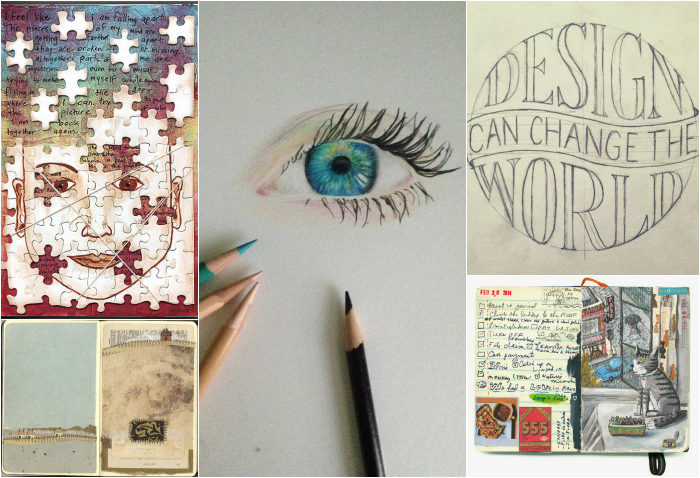 Inspire Me Monday: Artists and Their Journals