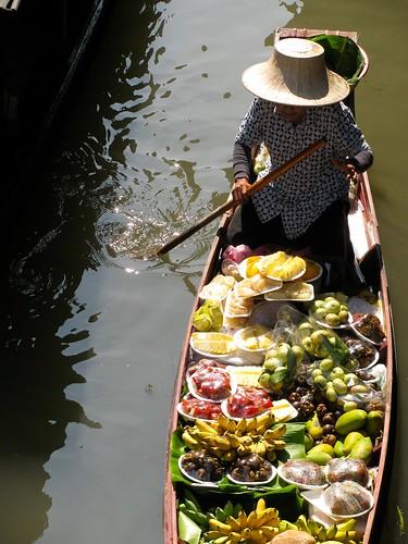 La vendedora de frutas